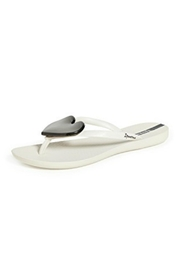 Ipanema Heart Wave Sandals - Front full body
