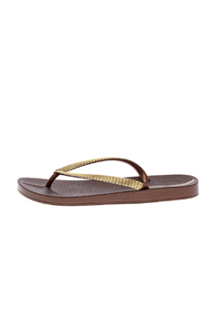 Shoptiques Product: Metallic Flip Flops