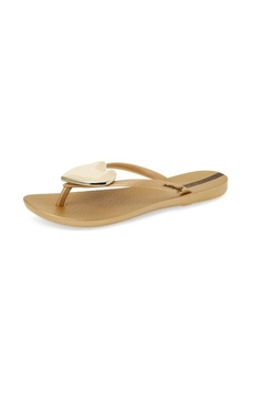 Shoptiques Product: Waveheart Gold Sandals