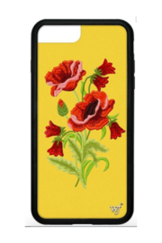 wildflower iPhone 6/7/8 + Case - Front cropped