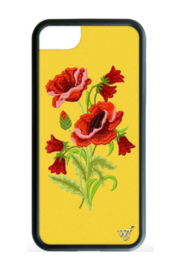 Wild Flower iPhone 6/7/8 Case - Front cropped