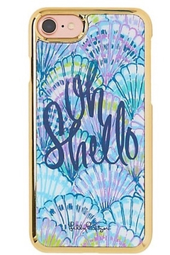 Lilly Pulitzer iPhone 7 Classic Cover OH SHELLO/SHELL SEARCH/OFF THE GRID - Alternate List Image