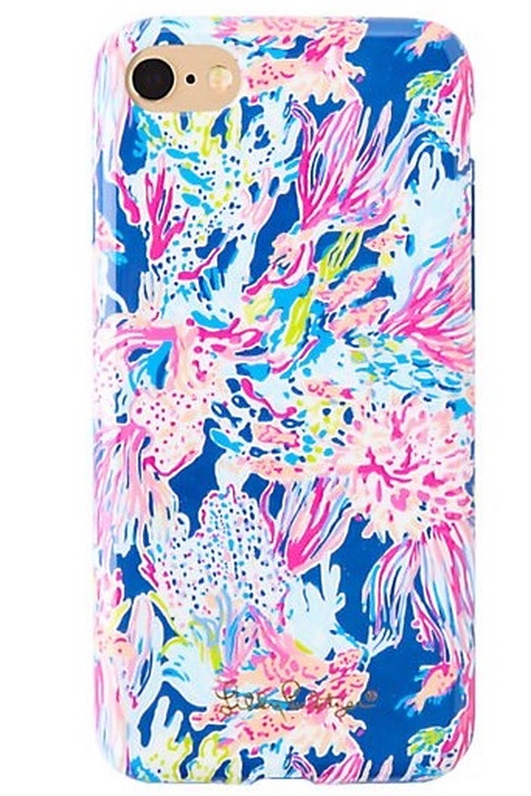 Lilly Pulitzer  iPhone 7 Classic Cover SOUTHERN CHARM/SUNKEN TREASURE - Front Cropped Image