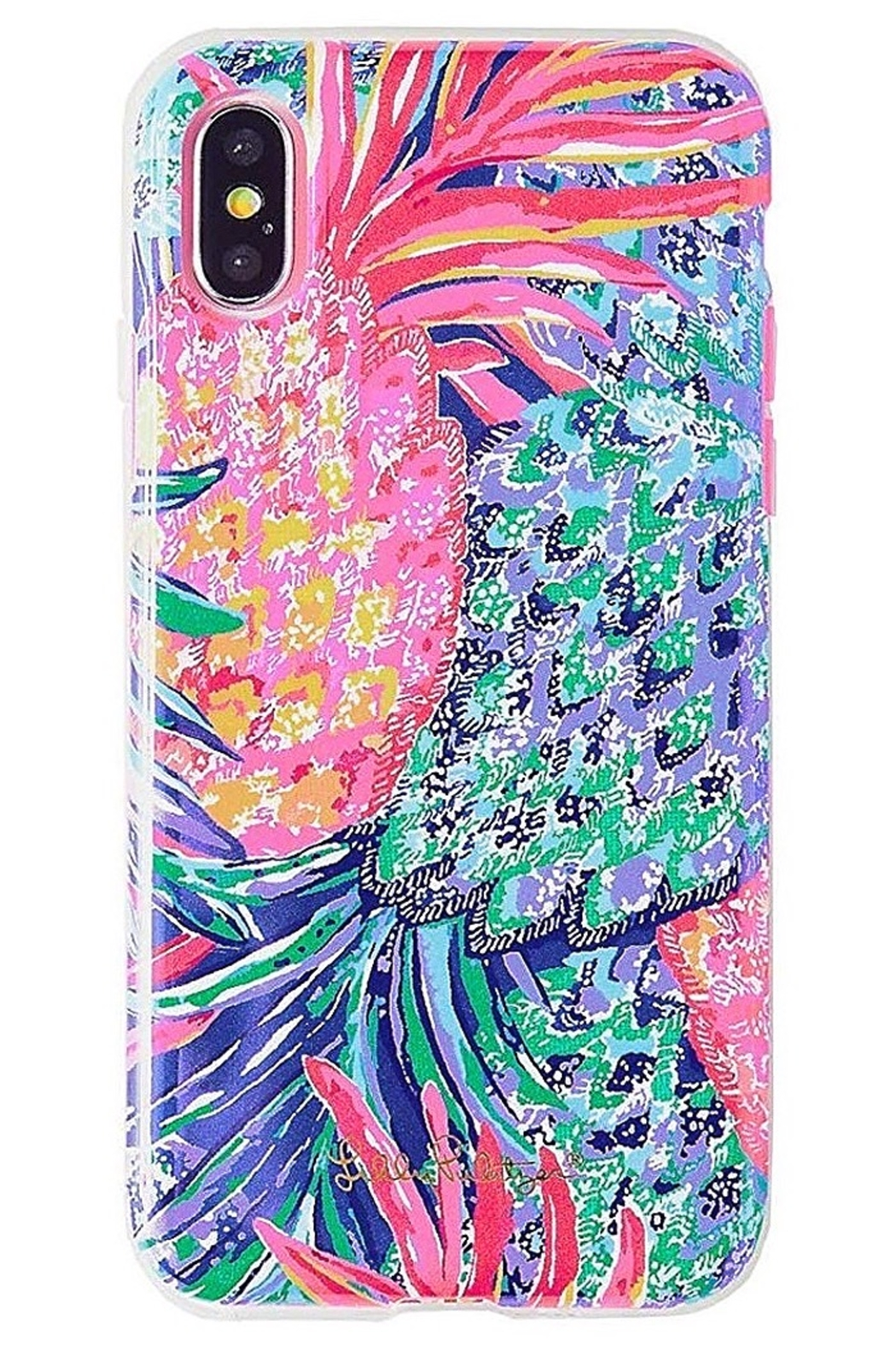 Lilly Pulitzer iPhone 7 Cover SPARKLING SANDS/GYPSET PARADISE - Front Cropped Image