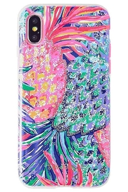 Lilly Pulitzer iPhone 7 Cover SPARKLING SANDS/GYPSET PARADISE - Front cropped