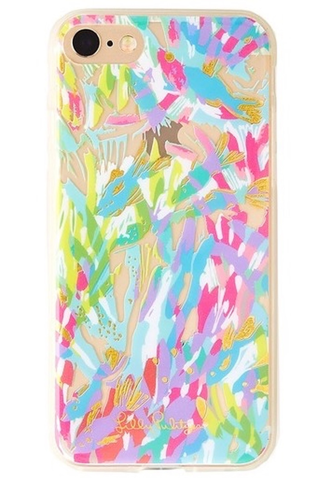 Lilly Pulitzer iPhone 7 Cover SPARKLING SANDS/GYPSET PARADISE - Main Image