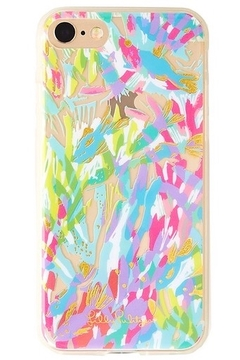 Shoptiques Product: iPhone 7 Cover SPARKLING SANDS/GYPSET PARADISE
