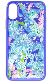 Lilly Pulitzer  iPhone X/XS Glitter Case TURTLE VILLA - Product Mini Image