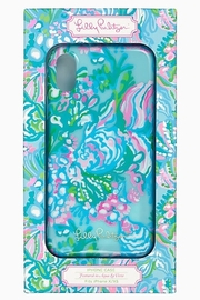 Lilly Pulitzer  iPhone X/XS & XR Cover AQUA LA VISTA - Product Mini Image