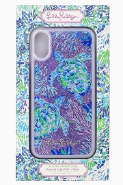 Lilly Pulitzer  iPhone XR Glitter Case SHELL OF A PARTY - Product Mini Image