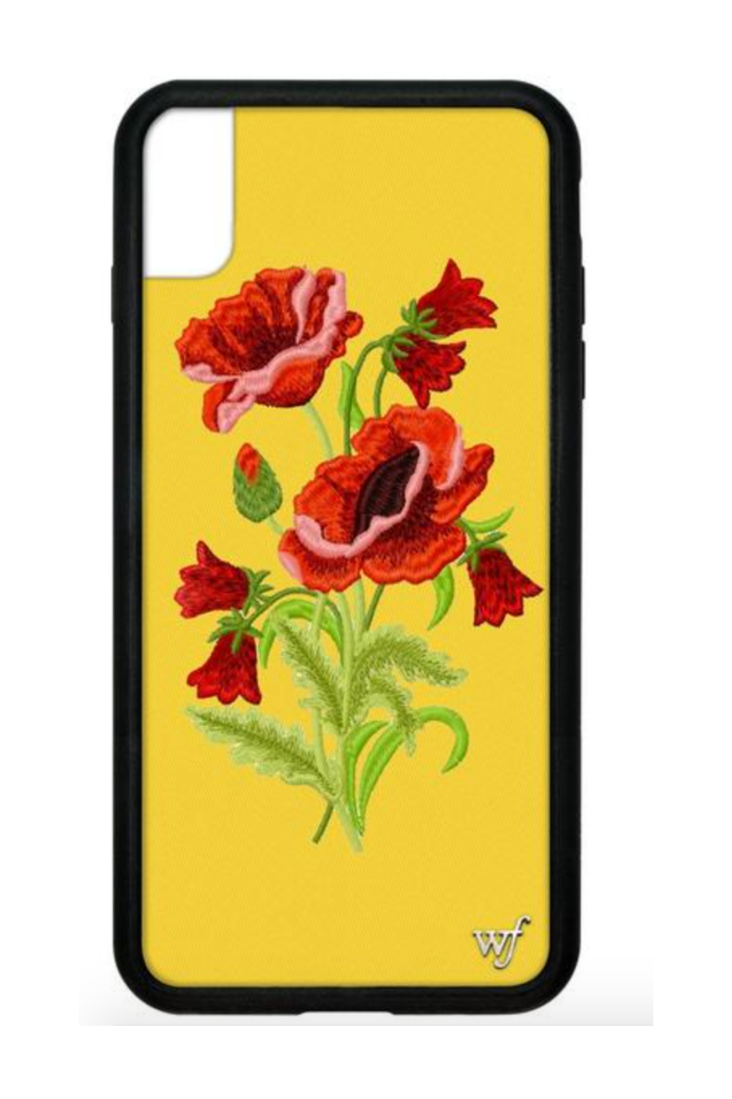 Wild Flower iPhone Xs Max Case - Front Cropped Image