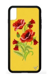 Wild Flower iPhone Xs Max Case - Front cropped