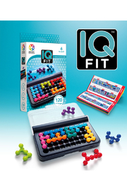 SmartGames IQ Fit 1 Person Puzzle Game - Product Mini Image