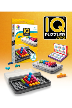 SmartGames IQ Puzzler Pro 1 Person Puzzle Game - Product List Image