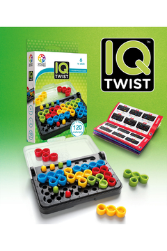 SmartGames IQ Twist 1 Person Puzzle Game - Product List Image
