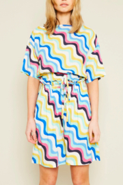 Native Youth Irena Colorful Top - Product Mini Image