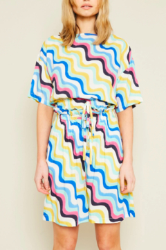 Native Youth Irena Colorful Top - Product List Image
