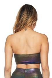 hot and delicious Iridescent Bandeau Bra - Front full body
