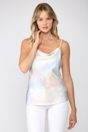 Fate Iridescent Cowl Neck Cami - Product Mini Image