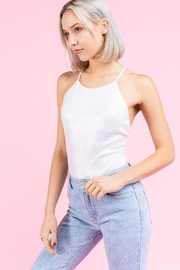 Le Lis Iridescent Knit Bodysuit - Side cropped