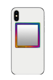 i decoz Iridescent Square Phone Mirror - Product Mini Image