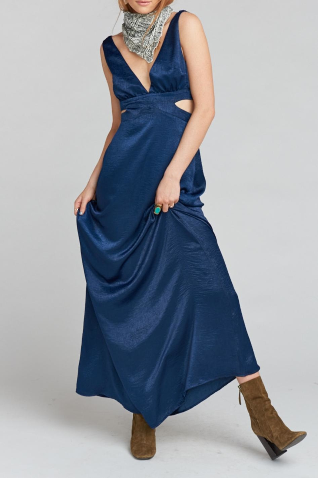 Show Me Your Mumu Irina Maxi Dress - Back Cropped Image
