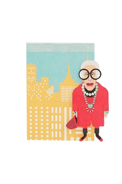 noodoll Iris Apfel Pocketbook - Alternate List Image