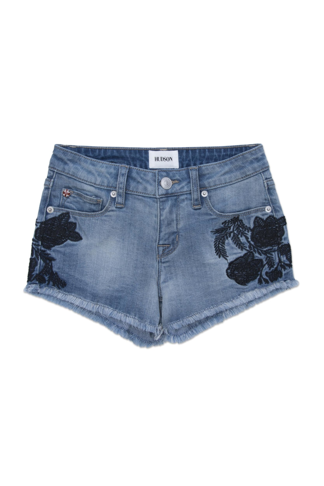 Hudson Jeans Iris Embroidered Short - Main Image