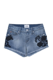 Hudson Jeans Iris Embroidered Short - Front cropped