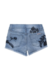 Hudson Jeans Iris Embroidered Short - Front full body