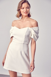 Do + Be  Iris Open Shoulder Dress - Product Mini Image