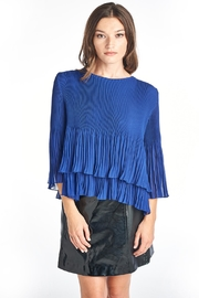 Nabisplace Iris Pleated Blouse - Product Mini Image