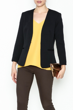 Shoptiques Product: Black Peplum Blazer