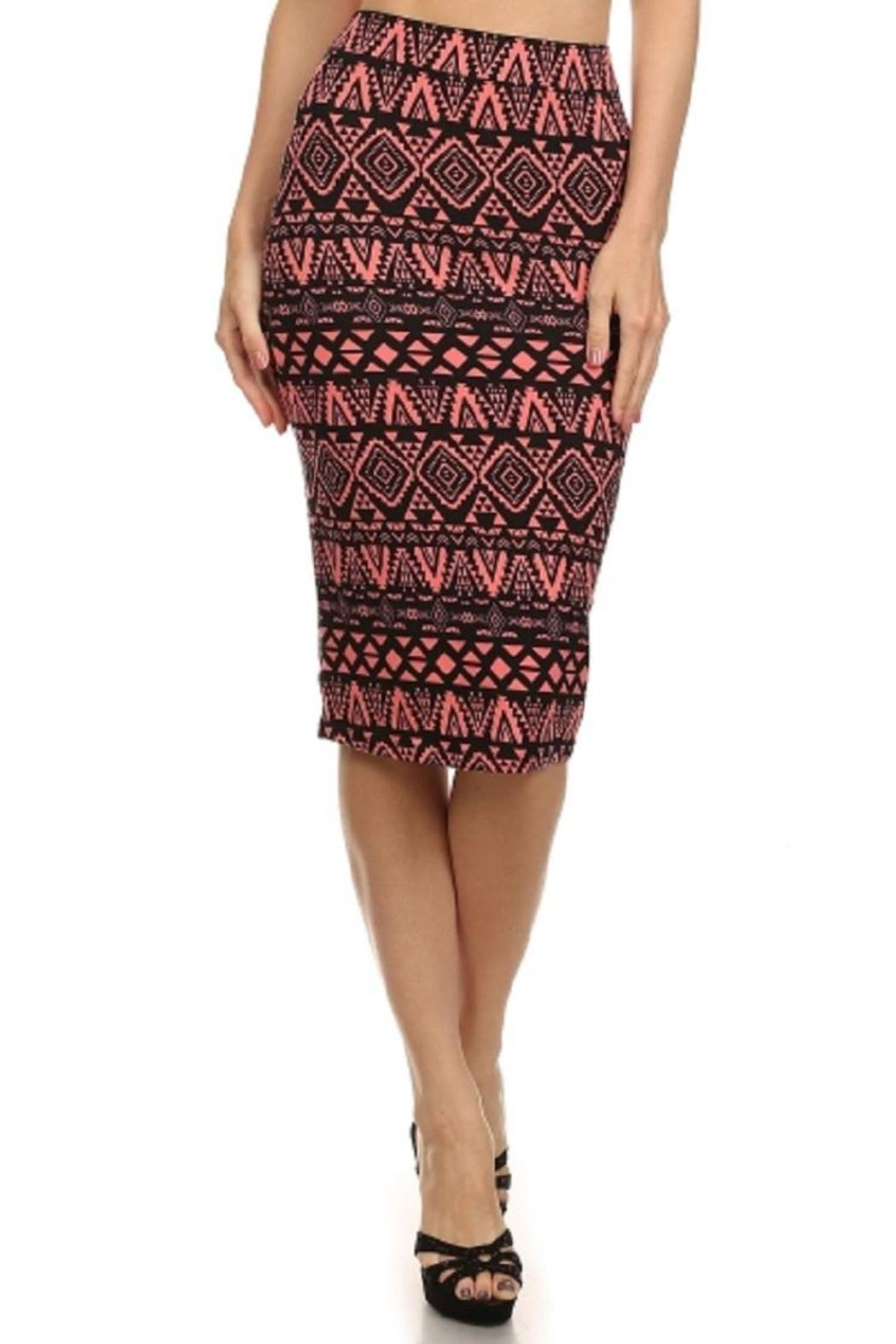 iris design aztec pencil skirt from st george by the nook