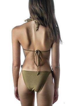 Shoptiques Product: Gold Triangle Top