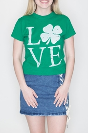 May 23 Irish Love Tee - Front cropped