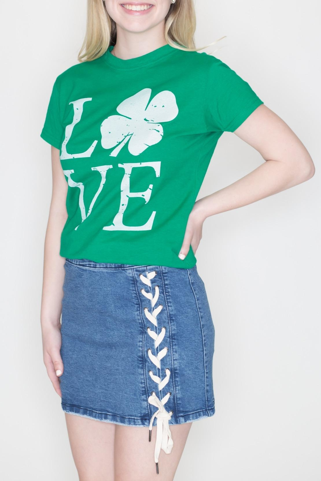 May 23 Irish Love Tee - Front Full Image