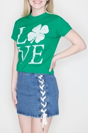 May 23 Irish Love Tee - Front full body