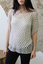 Scandal of Italy Irma Net Top - Front cropped