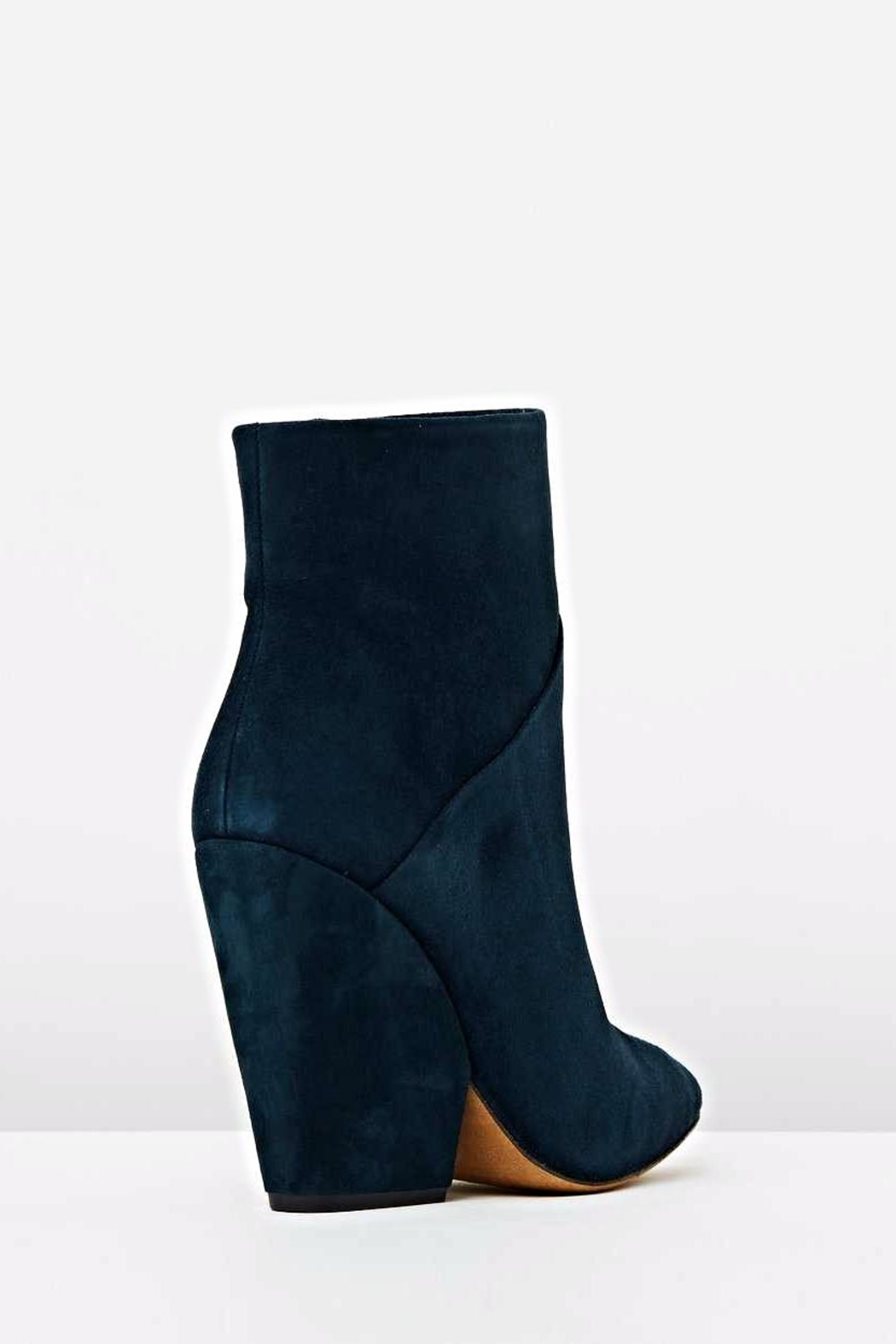 IRO Blue Ankle Bootie - Side Cropped Image
