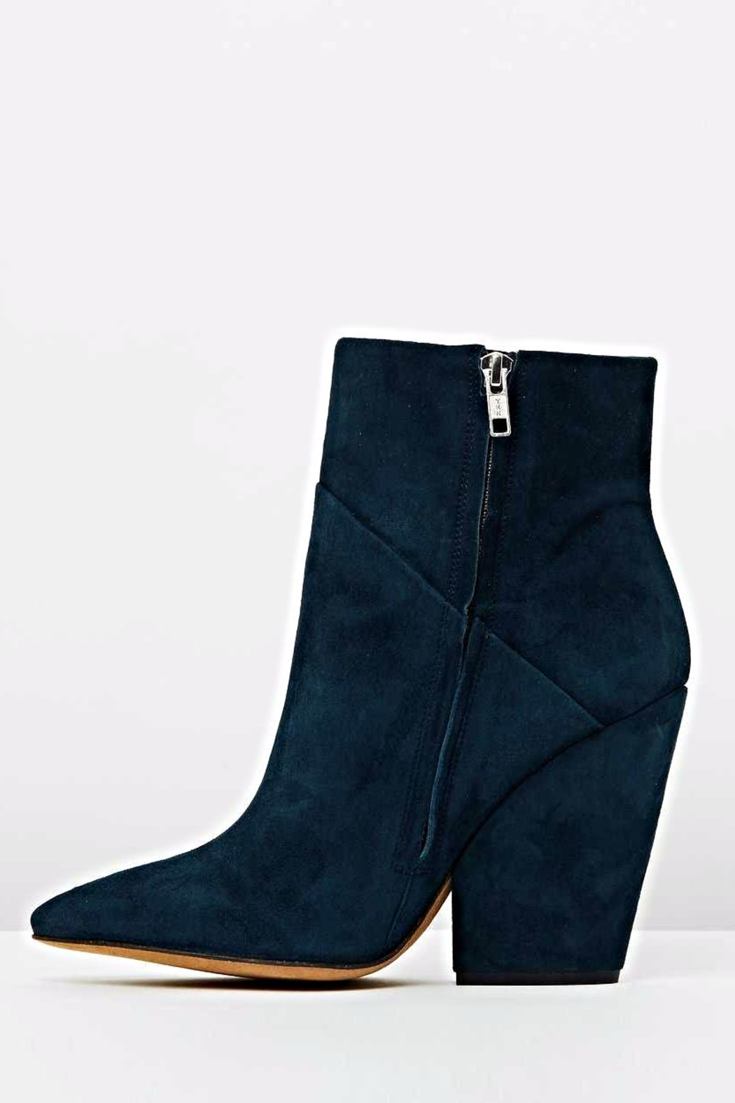 IRO Blue Ankle Bootie - Front Full Image