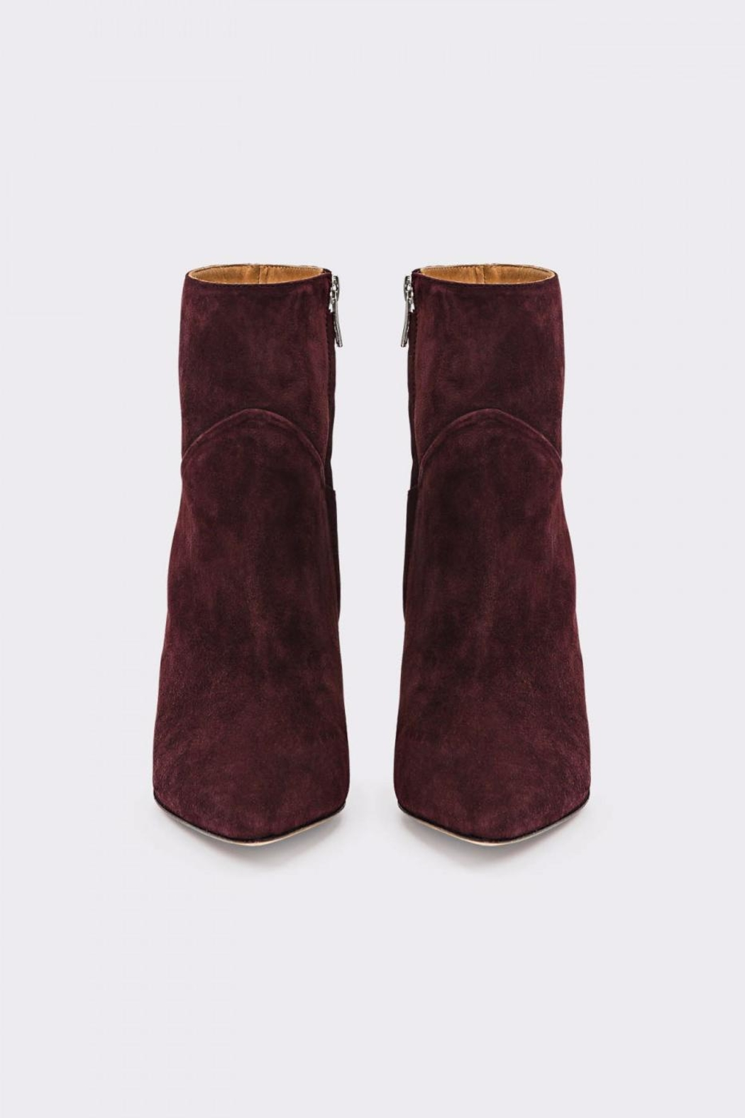 IRO Burgundy Bootie - Side Cropped Image