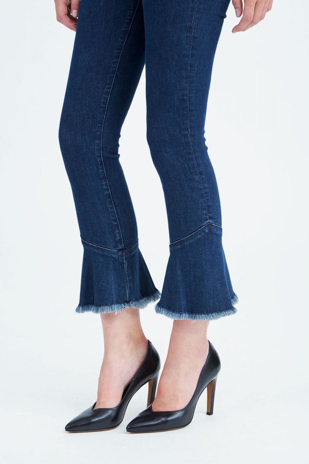 IRO Cropped Flare Jeans - Back Cropped Image