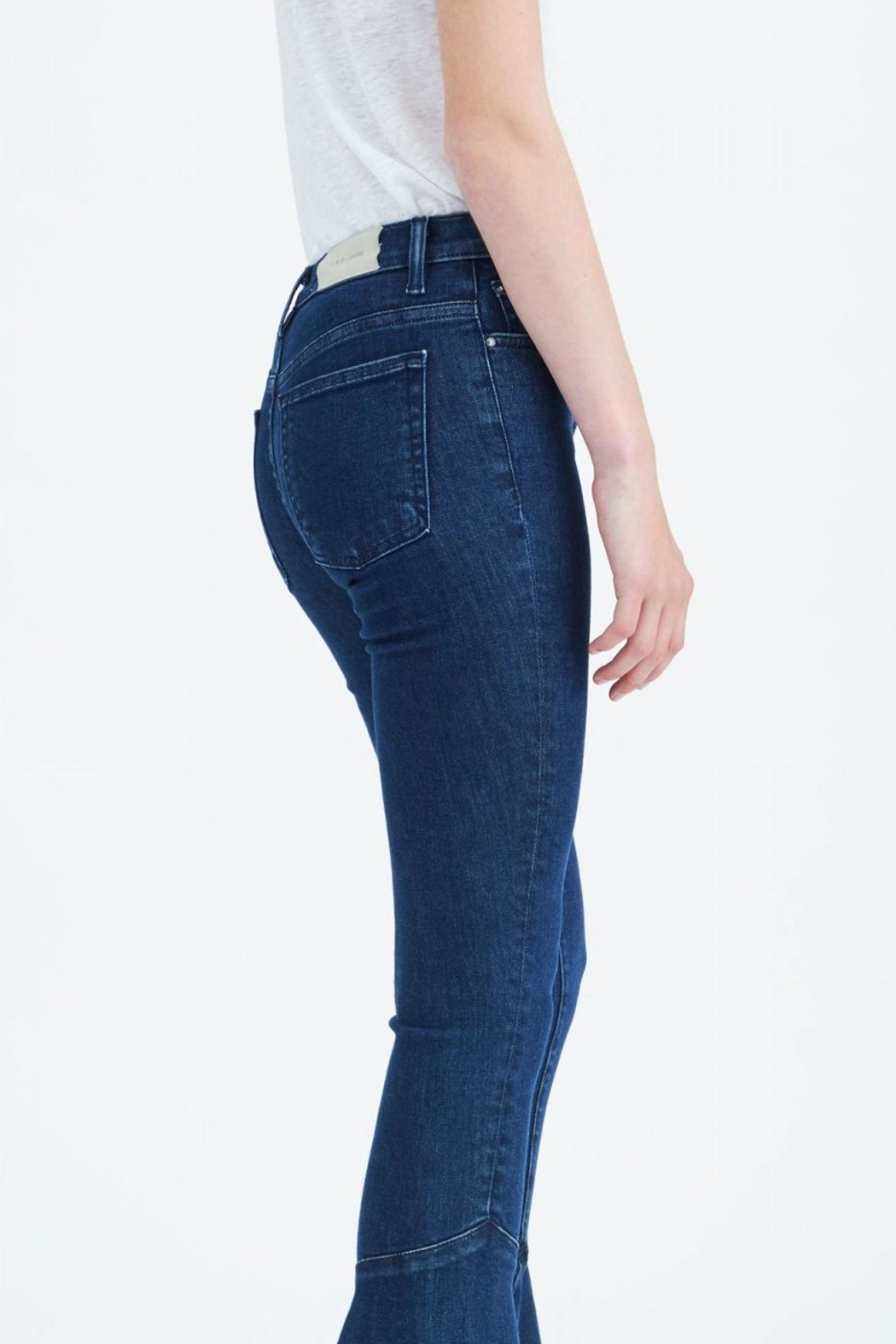 IRO Cropped Flare Jeans - Side Cropped Image