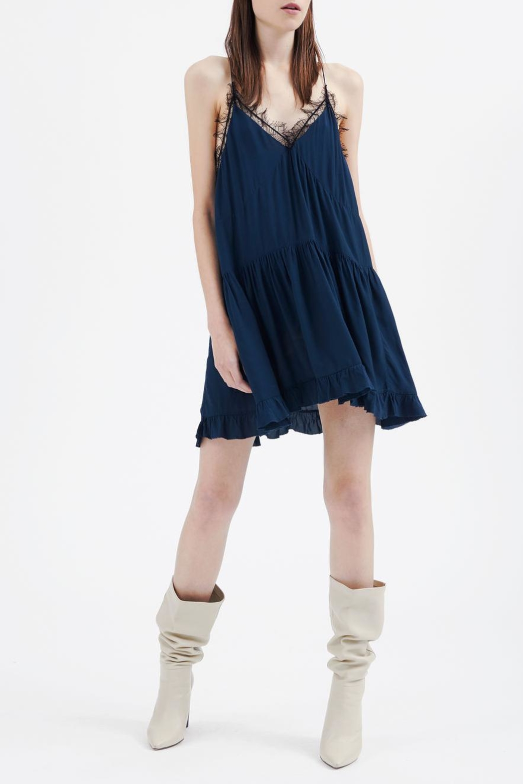 IRO Enes Slip Dress - Front Cropped Image