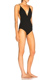 IRO Itava Ribbed Bodysuit - Front full body