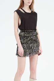 IRO Printed Ruffle Mini - Front cropped