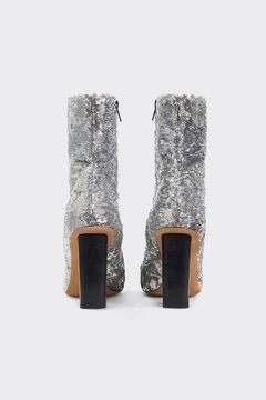 IRO Silver Sequin Boots - Alternate List Image