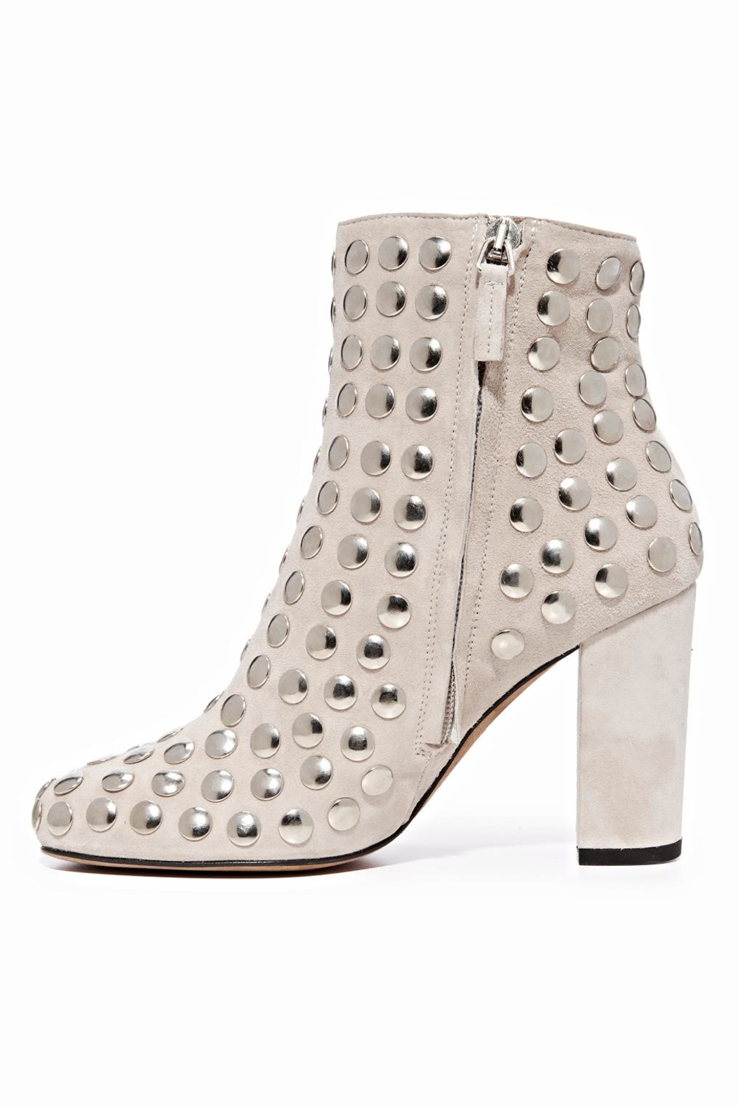 IRO Studded Suede Boot - Front Full Image