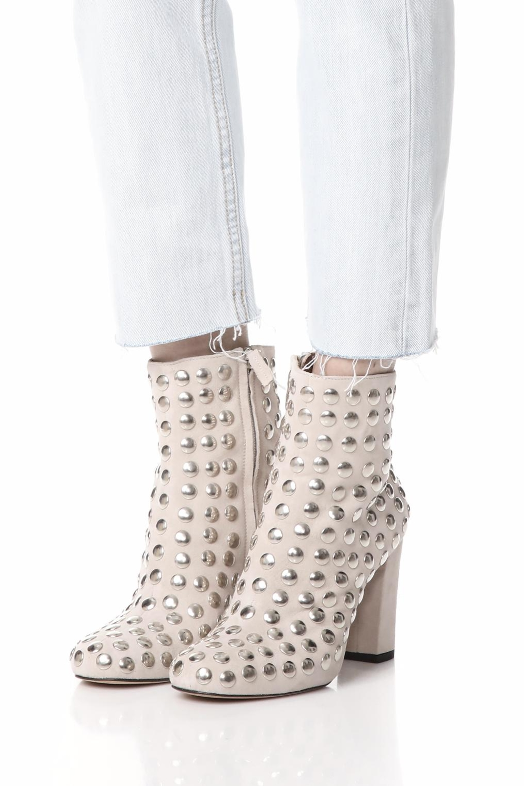 IRO Studded Suede Boot - Back Cropped Image